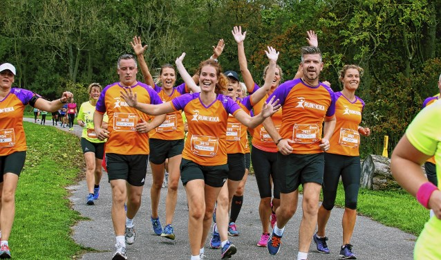 KiKa Run in Amsterdamse Bos.