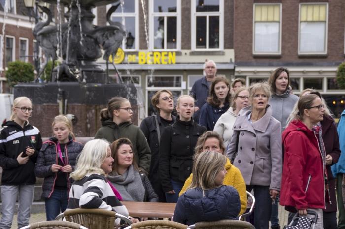 Flashmob  Omstander © BDU Media