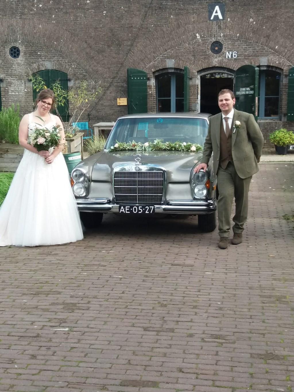 Ruud en Chantal trouwden als eersten op fort WKU Marry Nieuwhoff © BDU media