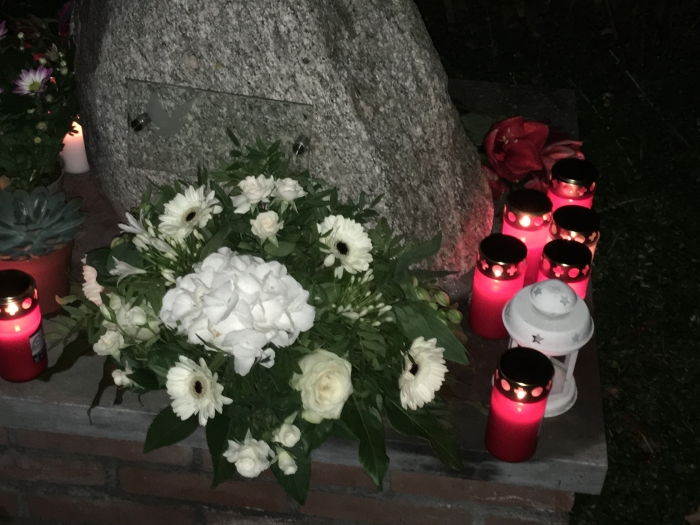 Lichtjesbijeenkomst Algemene begraafplaats, Odijk 2018 Hans Hofsté © BDU media