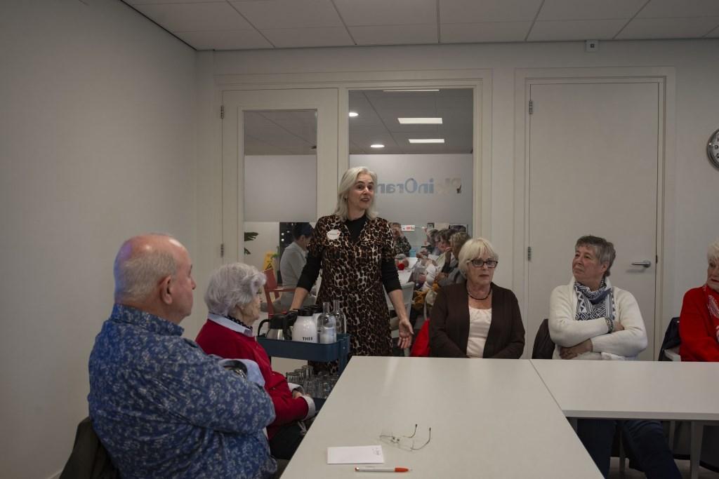 Ria Dijk houdt een welkomstpraatje Ellen Toledo © BDU media