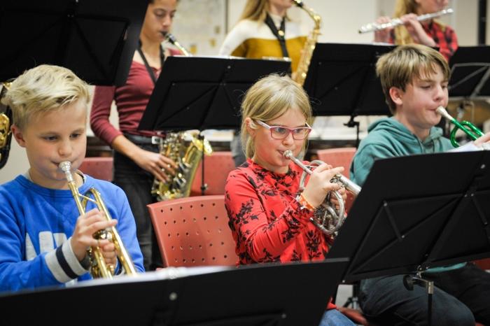 BazzBrass jeugdtalent op trompet