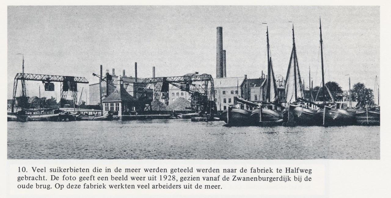 Suikerfabriek Halfweg 1928