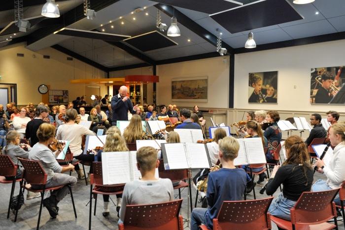 Overzicht concertzaal De Harmonie Theo Bos © BDU Media