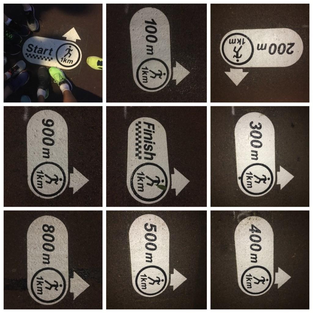 De markeringen op de fietspaden Sportpunt Houten © BDU media