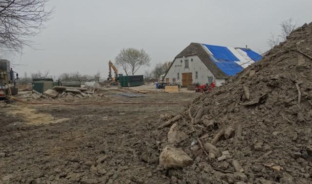 Februari van dit jaar is begonnen aan de eerste fase van bouwen ten westen van Odijk: Het Burgje