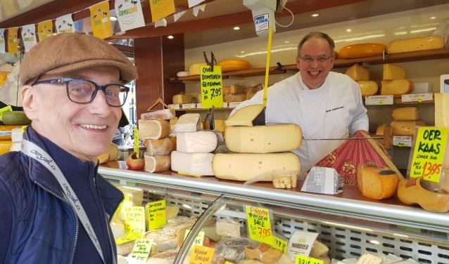 Henk Scheer, een vast en geliefd gezicht op de markt in Renswoude.