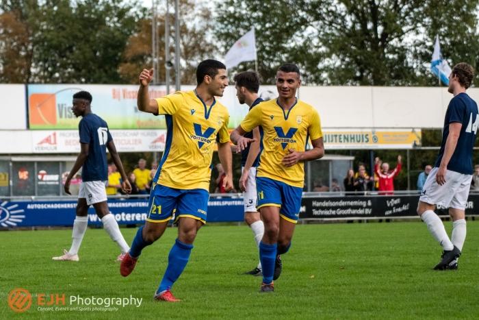 De 5-0 wordt gevierd door NSC Nijkerk ejhphotography.com © BDU Media