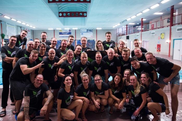 Alle vrijwilligers van CrossFit Sliedrecht Kim Bons Fotografie © BDU media