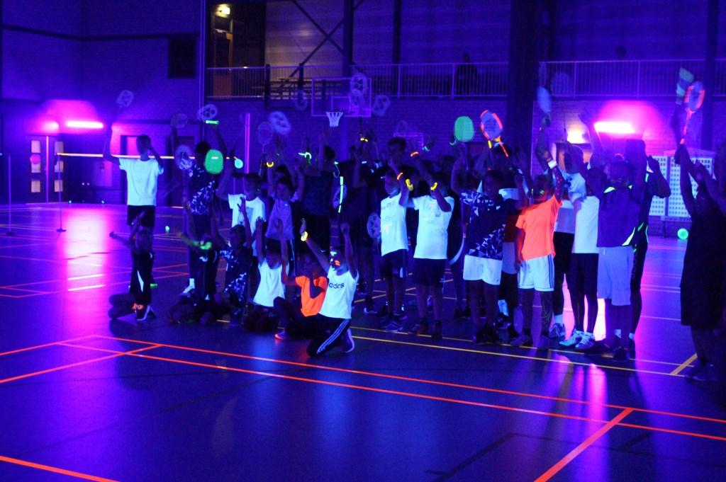 Blacklight Badminton Toernooi Jaap Rebel © BDU media