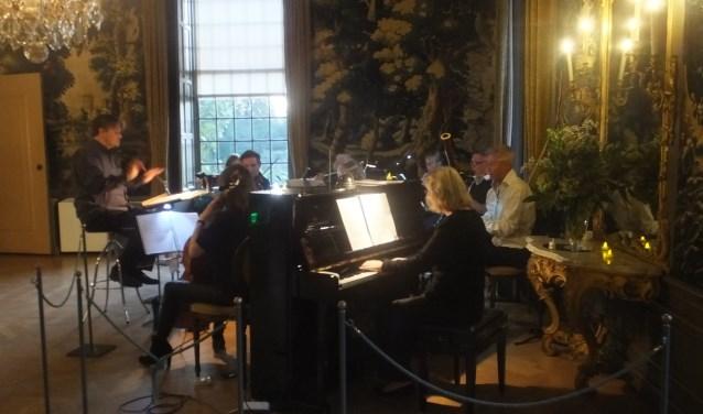 Onlangs werd gespeeld op de Lichtjesavond in Slot Zuylen