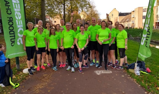 Het team van Soesenzo Outdoor Challenge
