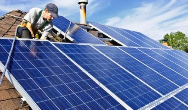 Het gebruik van zonnepanelen neemt nog steeds toe.