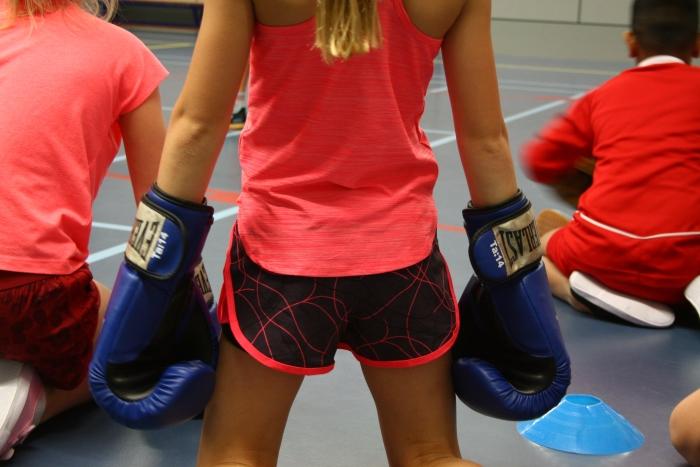 Kennismaken met Kick en Fun tijdens de gymles