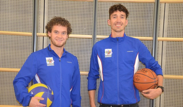 Tim Hoogduin en Giel-Jan Wittenberg starten Sportmix