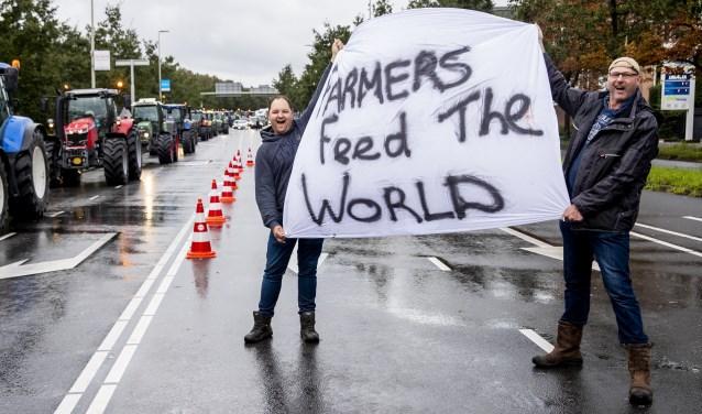 Groot boerenprotest in Den Haag. 'We zijn dertig jaar netjes gebleven.'