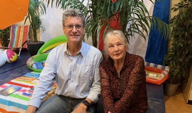 Jan Heijman en Ireen Elkhuizen zijn beiden al 40 jaar in het onderwijs werkzaam
