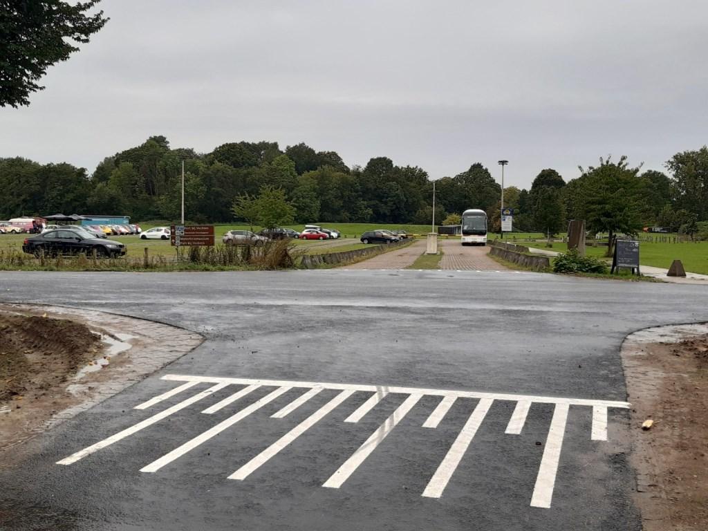 Het nieuwe verkeersplateau in de Achterdijk Kuun Jenniskens © BDU media