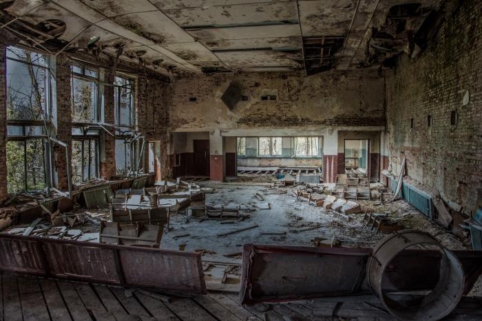 Tsjernobyl dorpshuis