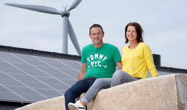Wouter en Arien Evers zijn blij met hun eigen energiebron.