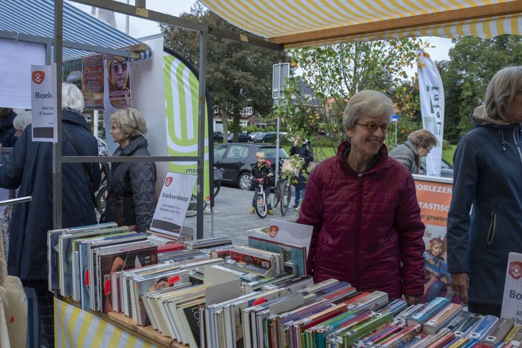 Verkoop afgeschreven boeken Ellen Toledo © BDU media