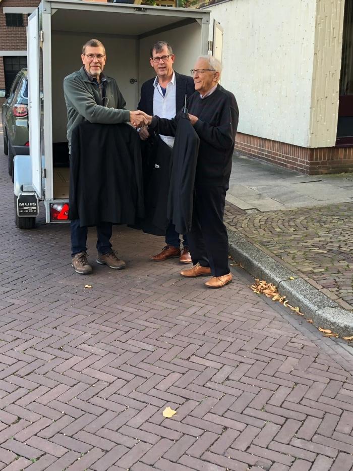 V.L.N.R. Kees Doppenberg, Aalt Posthouwer en Wim van Dort