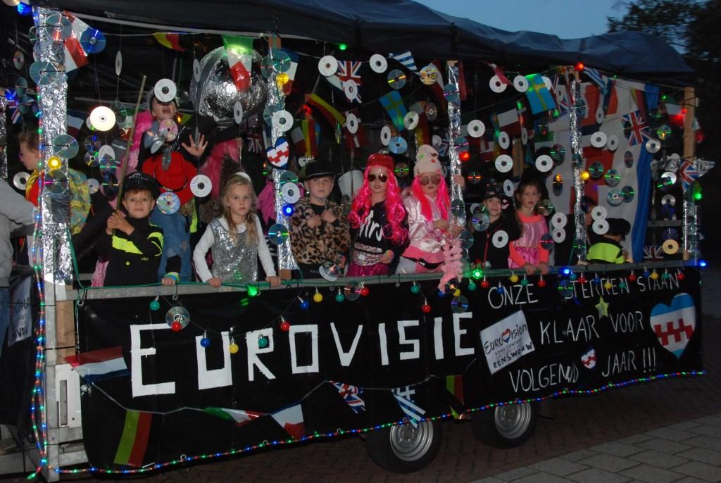 Het Songfestival werd winnaar bij de grote wagens. Adriaan Hosang © BDU media