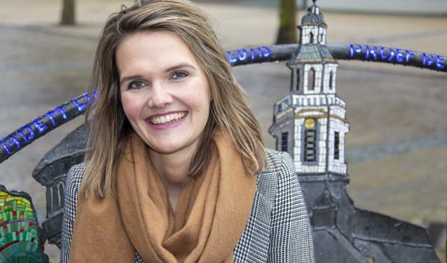 Aartje van Drie is de nieuwe citymarketeer van Nijkerk.