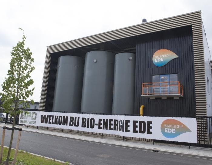 Welkom bij de tweede Edese bio-energie installatie van Warmtebedrijf Ede