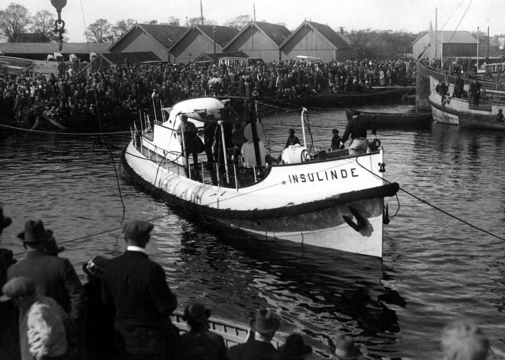 Reddingsboot Insulinde.