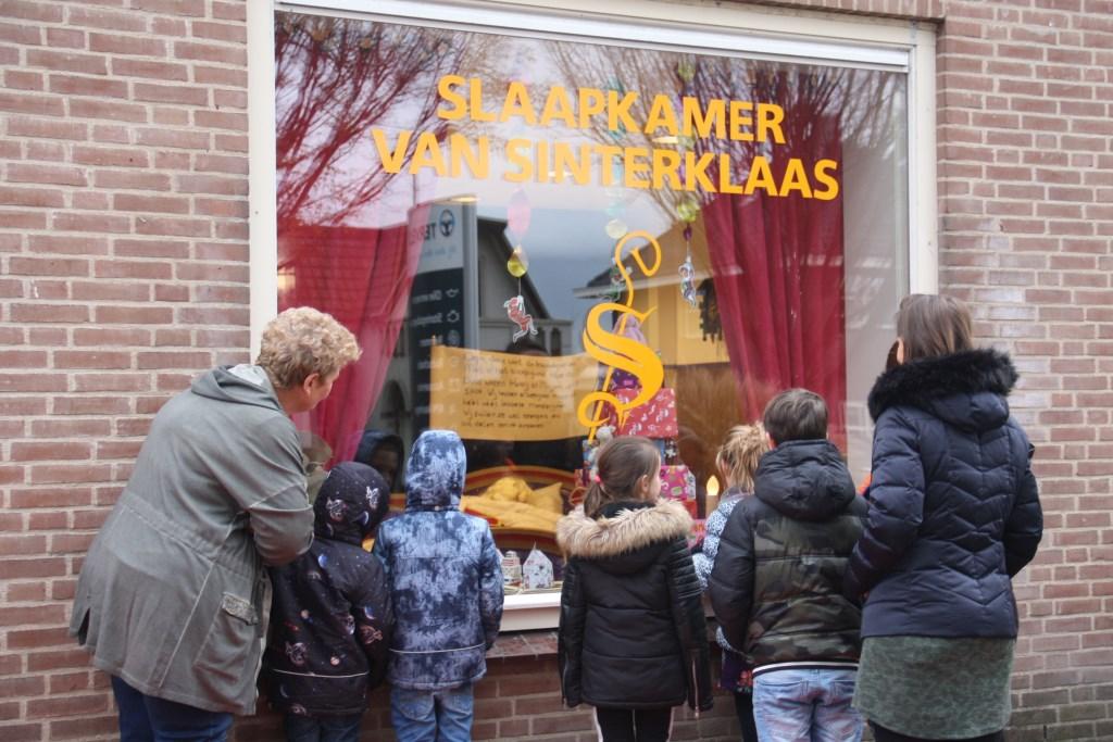 Sinterklaas sliep al eerder in Achterveld.