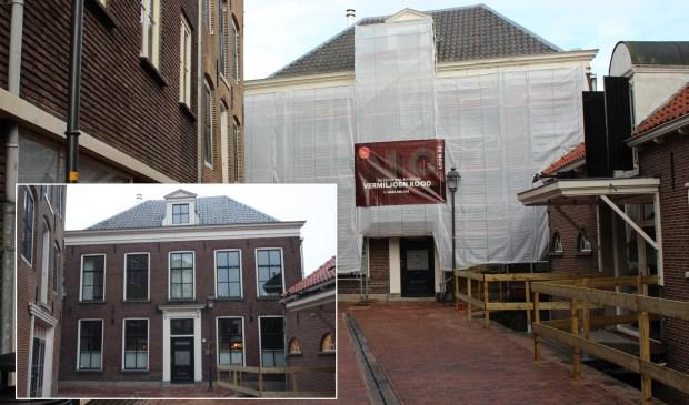 De Tweede Pastorie staat nu in de steigers, maar is normaal altijd de blikvanger aan de Catharinastraat.