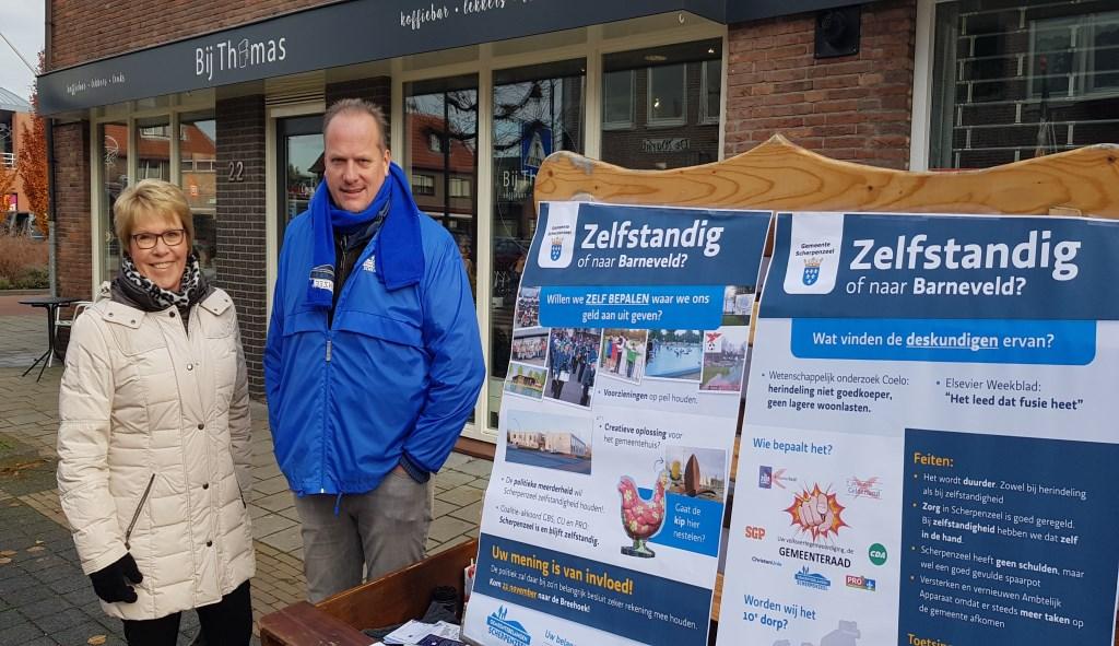 GBS'ers Jan van de Fliert en Tineke Verbeek.