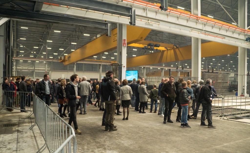 Vrijdag en zaterdag waren er open dagen in de nieuwe fabriek in Barneveld voor relaties en familie en vrienden van alle werknemers. Bosch Beton © BDU media