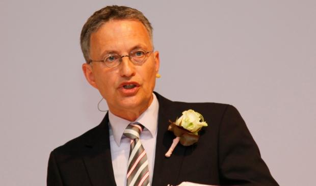 Ds. Henk van der Velde, predikant van NGK De Ontmoeting in Voorthuizen.
