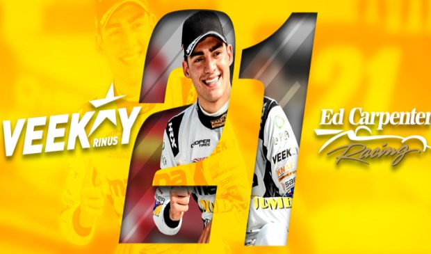 Rinus van Kalmthout gaat met nummer 21 rijden in de IndyCar.