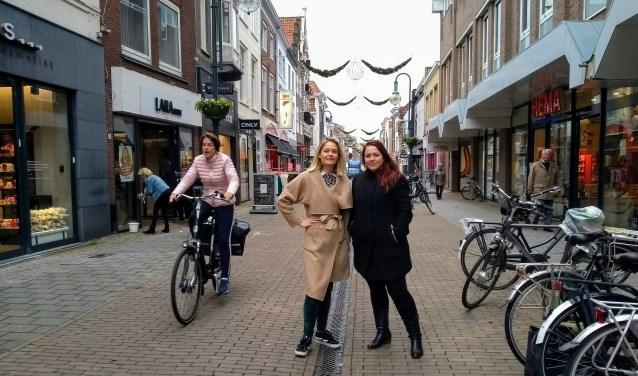 Esther Hobo en Nancy van Driel.