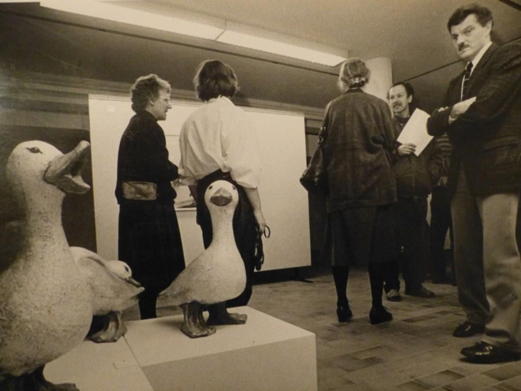 De Kunstkelder in de jaren tachtig.  De Kunstkelder © BDU media
