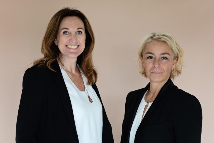 Yvonne Kempe en Cynthia Hoogerwaard