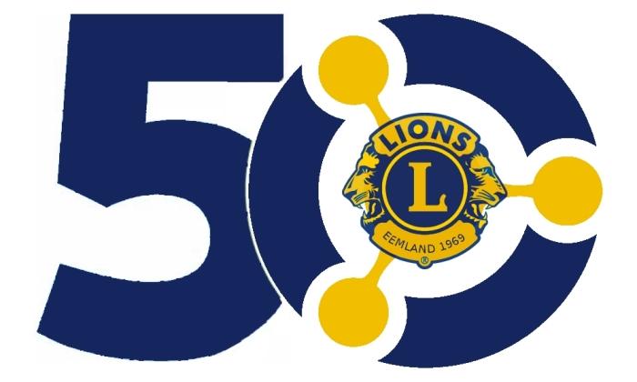 logo 50 jaar Lionsclub Eemland LC Eemland © BDU media