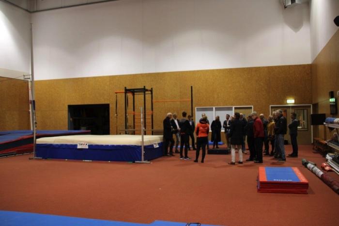 rondleiding voor de sponsoren van sc Hoevelaken en MHC Hoevelaken