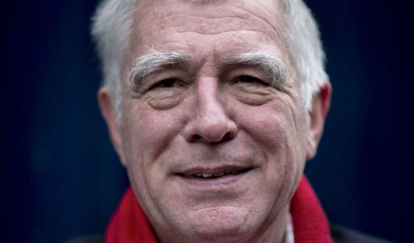 Het omstreden raadslid Hans van Wegen (BPA).