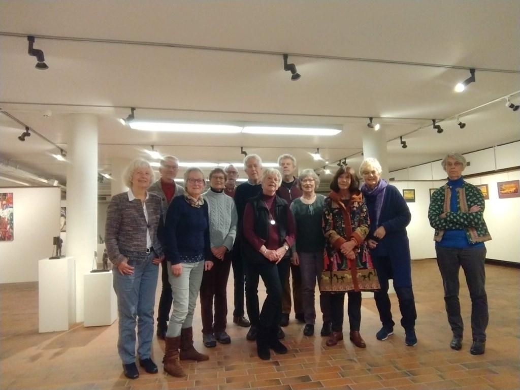 Een deel van het team aan suppoosten en bestuur van de Kunstkelder. Maranke Pater © BDU media