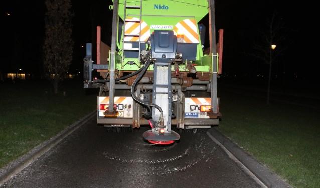 Het lijkt erop dat er 'gewoon' gestrooid kan worden als het glad wordt op de wegen.