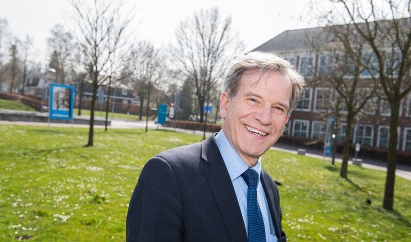 Oud-wethouder Johan Weijland.