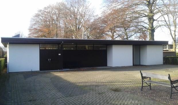 """De aula in Lunteren, in 2008 nog flink gerenoveerd. ,,Nu slopen is toch niet uit te leggen?"""""""