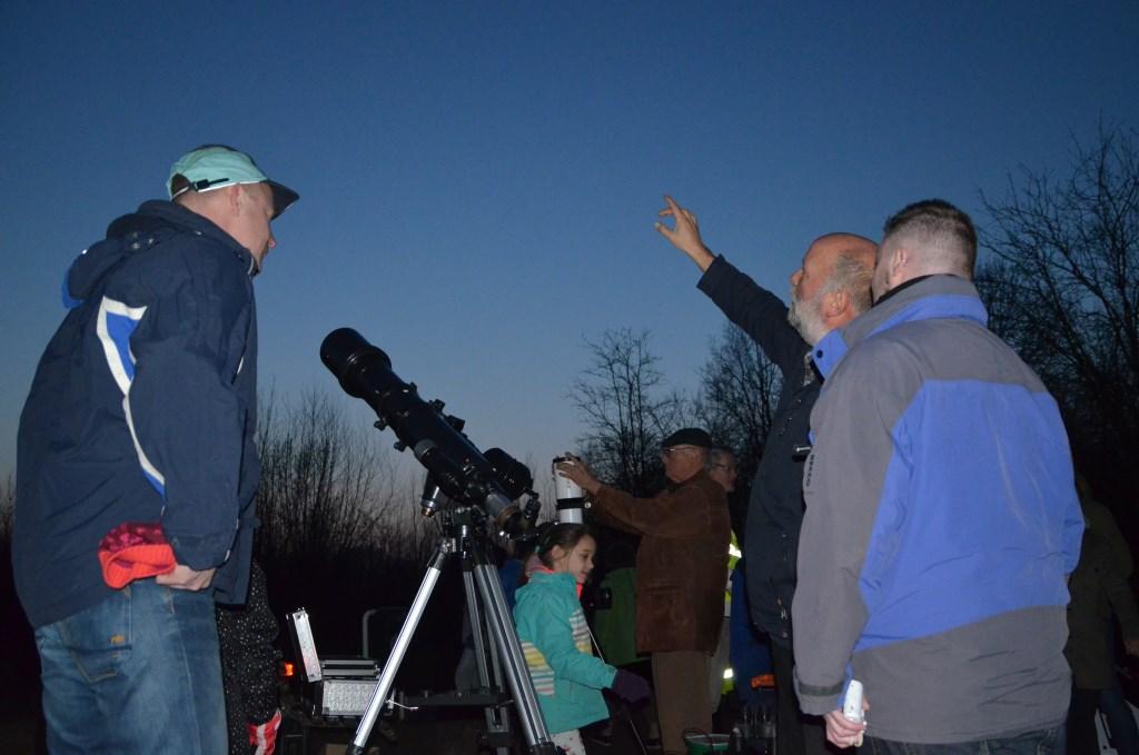 Een driedaagse cursus sterren kijken bij Sterrenwacht Midden-Nederland. Sterrenwacht Midden-Nederland © BDU media