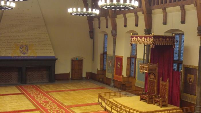 rondleiding  tweede kamer en ridderzaal Gerrit Grootentraast © BDU media