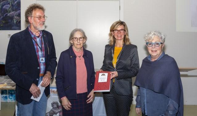 Vlnr: Ruud Siekerman, Bea Vega, Joyce Langenacker en Mieke Bonn.