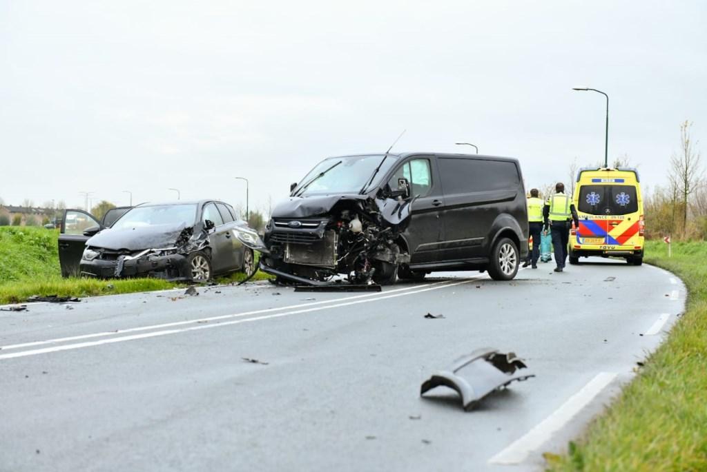 Ongeval op Rondweg Koen Laureij © BDU media